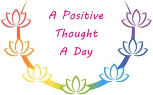 A Positive Thought A Day